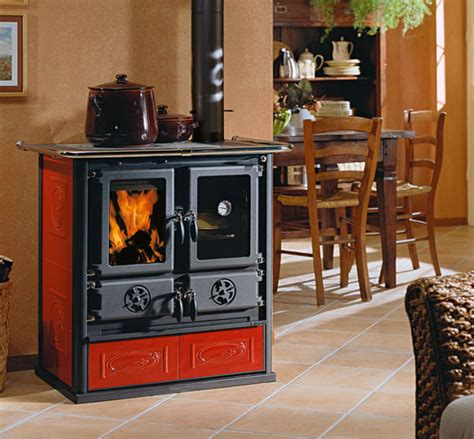 rivestimento forno a legna cucine a legna rosetta bii la nordica extraflame