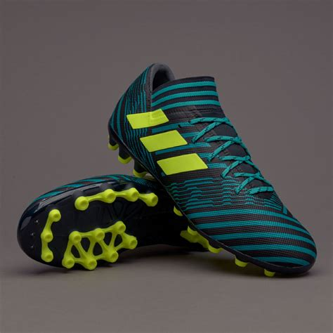 Sepatu Adidas For 1 sepatu bola adidas nemeziz 17 3 ag legend ink solar yellow energy blue