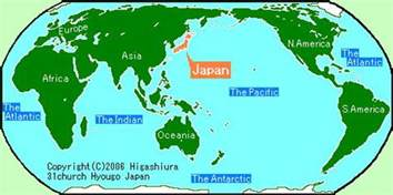 map of the world japan d where we live