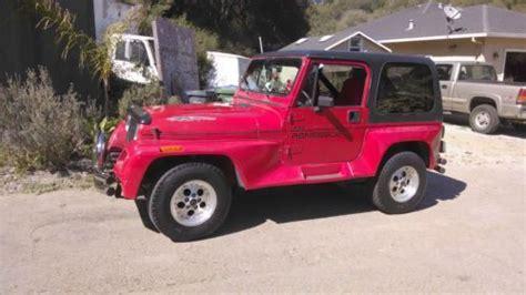 1991 Jeep Renegade Parts Find New Jeep Wrangler Renegade 1991 In Aptos California