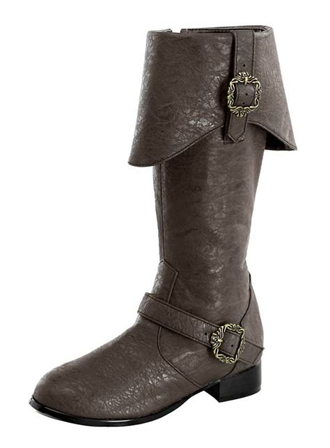 pirate boots deluxe pirate boots brown
