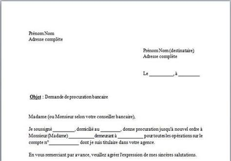 Exemple Lettre Procuration Orange Modele Lettre De Procuration Orange
