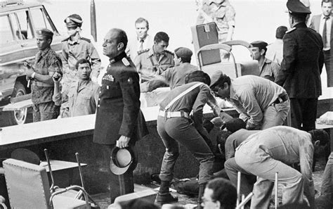 anwar sadat the assassination of anwar sadat 1981