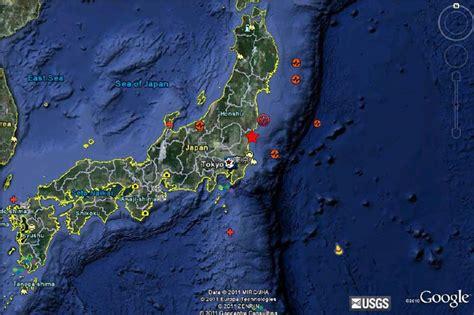 earthquake exle honshu earthquake japan
