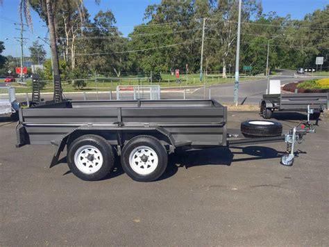 10 x 5 x 5 box 10x5 tandem box trailer topline trailers
