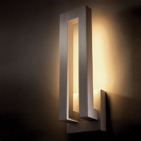 Modern Indoor Wall Sconces Forq Indoor Outdoor Led Wall Sconce By Modern Forms At