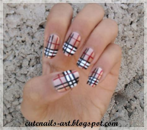 burberry pattern nails 1000 images about runnin wild teenage mums on