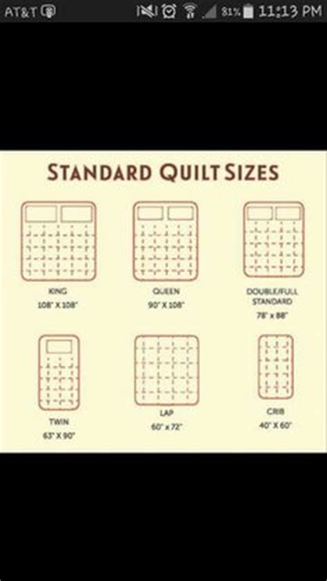 quilt sizes quilt and shape on
