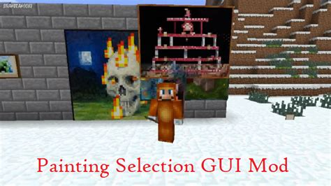 paint selection painting selection gui mod for minecraft file minecraft