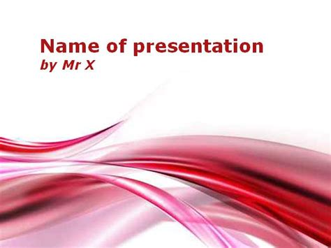 powerpoint themes red abstract red color gradient powerpoint template