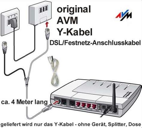 dsl bank telefon original avm dsl isdn festnetz anschlusskabel