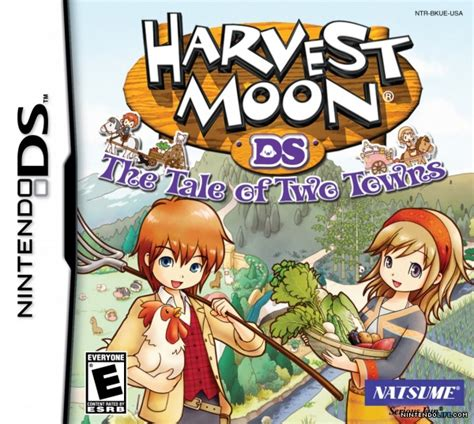 harvest moon harvest moon ds the tale of two towns ds news reviews