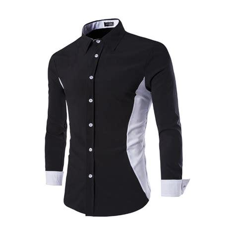 Shirts Design 2016 Aliexpress Buy Fashion Design Shirt Korean Slim