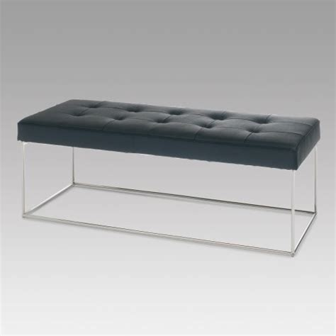 modern bedroom benches nuevo caen indoor long bench modern bedroom benches