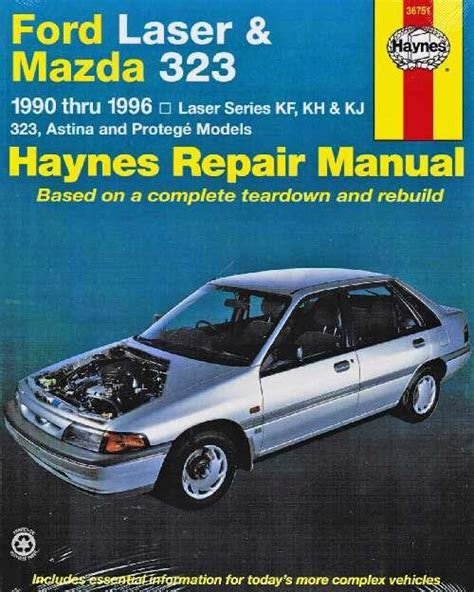 1991 mazda 323 and protege repair shop manual original ford laser mazda 323 1990 1996 haynes owners service repair manual 1563922657