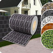 Terrasse Sichtschutz Kunststoff 555 by Gartenz 228 Une Sichtschutzw 228 Nde Ebay