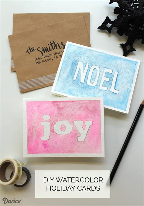 how to make watercolor cards cards tutorial watercolor darice