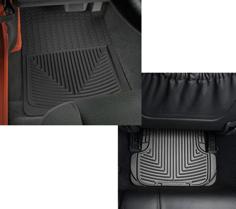 Jeep All Weather Mats Weathertech All Weather Front Rear Floor Mats For 87 95