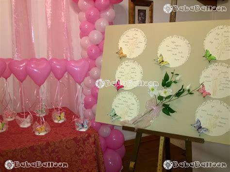 allestimento tavolo per battesimo allestimenti palloncini per battesimi bababalloon