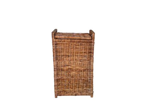 rattan laundry with lid rectangular rattan laundry with lid se waite and