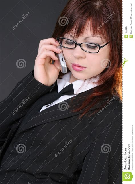 mobile strike girl with glasses girl with mobile phone stock images image 1388424