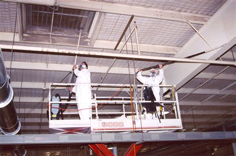 Ceiling Cleaning Equipment by Service Specializes In Industrial Cleaning Projects