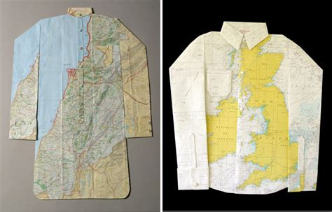 Elisabeth Lecourts Map Clothing by The Monday Map Maps On Clothes Hejorama