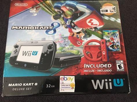 Nintendo Wii U Mario Kart 8 593 by New Nintendo Wii U Limited Edition Mario Kart 8 32gb