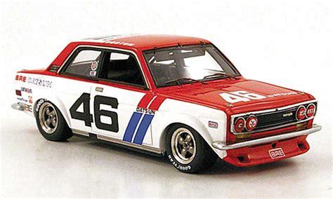 Diecast Nissan Laurel Ht2000sgx 1972 White datsun 510 bre no 46 sieger scca trans am 1972 truescale