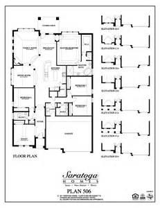 saratoga homes floor plans plan 2955 saratoga homes houston