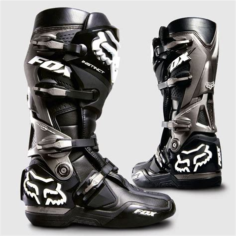 fox instinct motocross boots fox instinct motocross boots black theme modern rugged