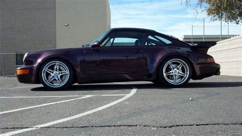purple porsche 911 turbo purple 1991 porsche 911 turbo german cars for sale
