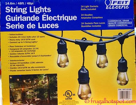 feit electric string lights costco lights at costco 100 images paradise solar led accent