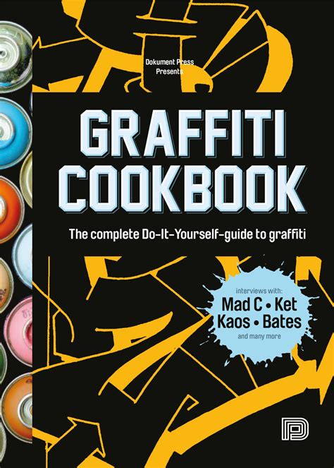 libro graffiti cookbook a urban media graffiti cookbook softcover libro