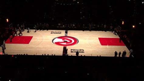 Atlanta Courts Search Philips Arena Atlanta Hawks 3d Basketball Court Projection