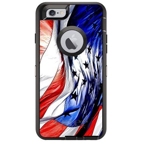 Custom Iphone 6 6 6s 6s 7 7 Motif 3 Animal custom otterbox defender for iphone 6 6s 7 plus white blue usa flag waving ebay