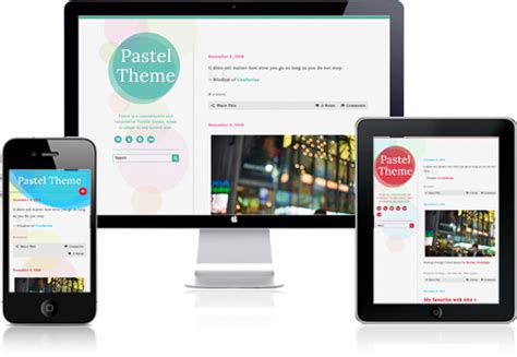 themes for tumblr mobile pastel tumblr theme by glorm themeforest