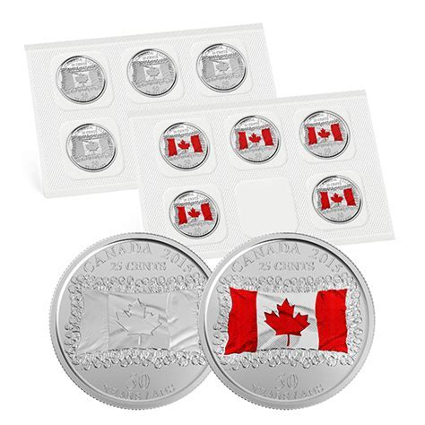 25 cent Circulation Coin Pack