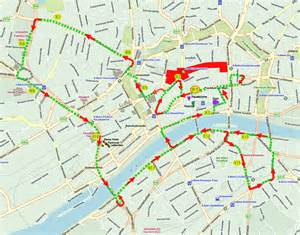 Bus Routes Map by Paris Hop On Hop Off Bus Route Map Bing Images