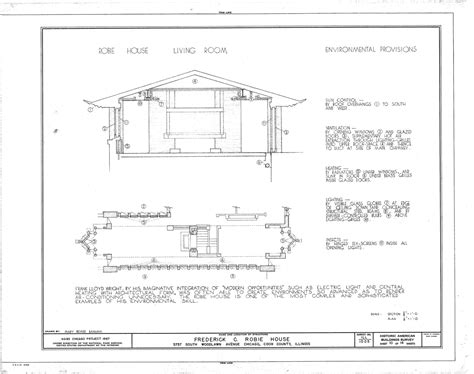 robie house plans robie house plan analysis house and home design