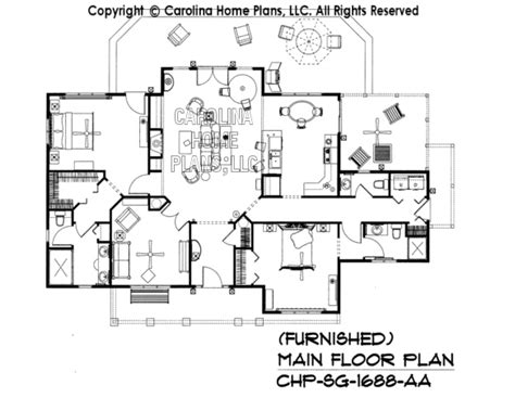 Small House Plans Carolina 3d Images For Chp Sg 1688 Aa Small Craftsman Cabin 3d