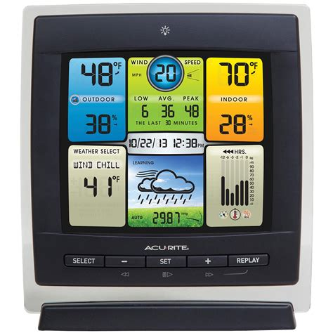 acurite 00589 pro color weather station with