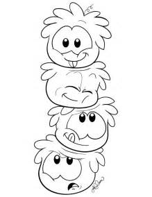 club penguin coloring pages free printable puffle coloring pages for