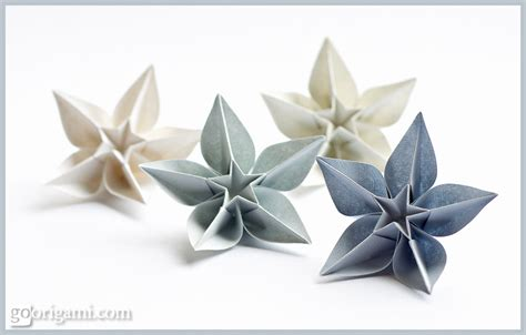 Origami For Flower - origami flowers and plants gallery go origami
