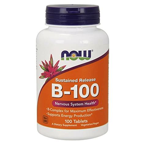 Vitamin Fitnes Now Vitamin B 100 100 Tablets Lifestyle Updated