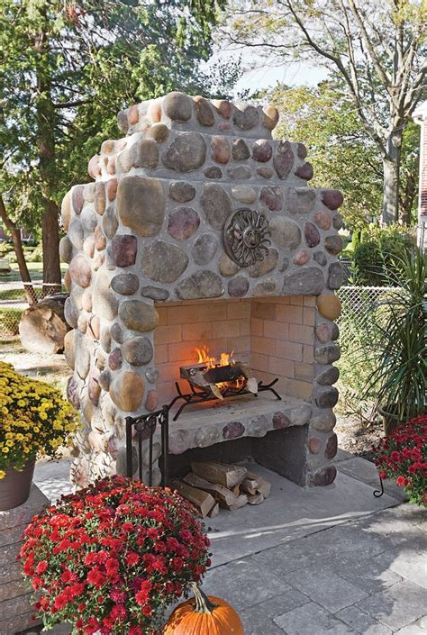 feld stein patio 20 beautiful outdoor fireplace designs