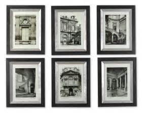 Ethan Allen Dining Room Sets uttermost paris scene framed art set 6 33430