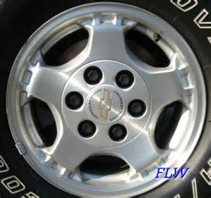 Stock Chevy Truck Wheels 1999 Chevy Silverado Oem Factory Wheels And Rims