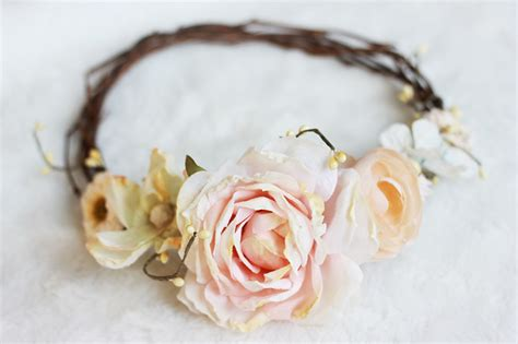 diy flower crown diy floral crown 187 the merrythought