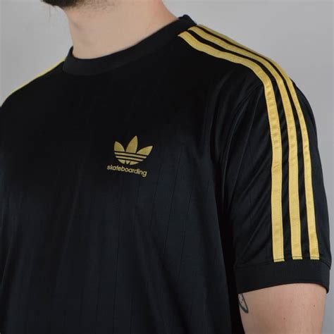 black and gold l adidas t shirt black and gold l d c co uk